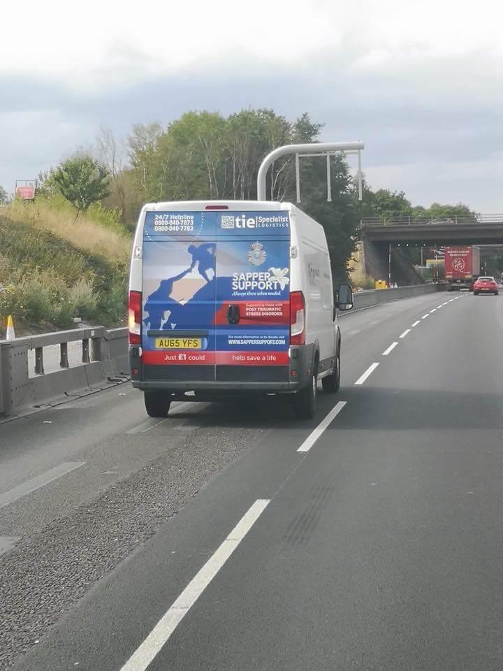 Sapper Support Van
