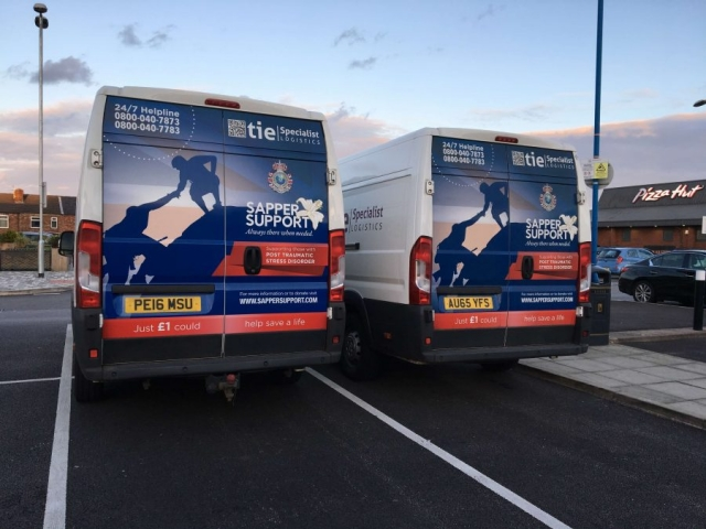 Sapper Support Vans